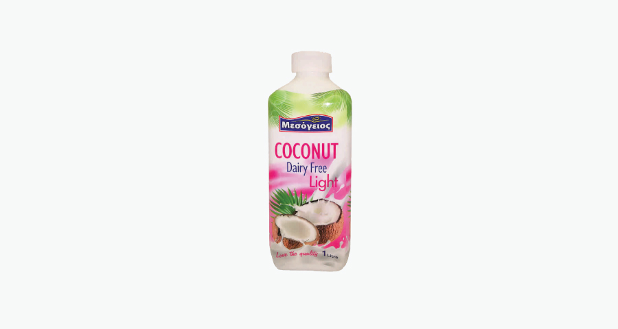 MESOGEIOS COCONUT DAIRY FREE LIGHT 1L